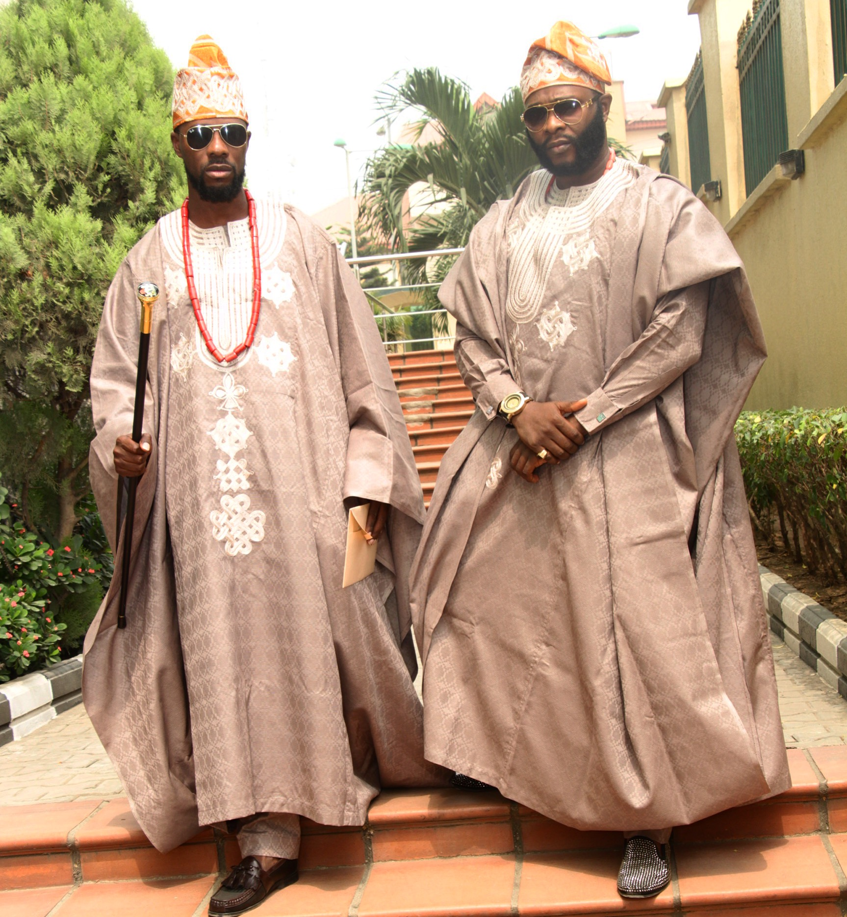 dokun and joro at toolz and tunde wedding onerandomchick