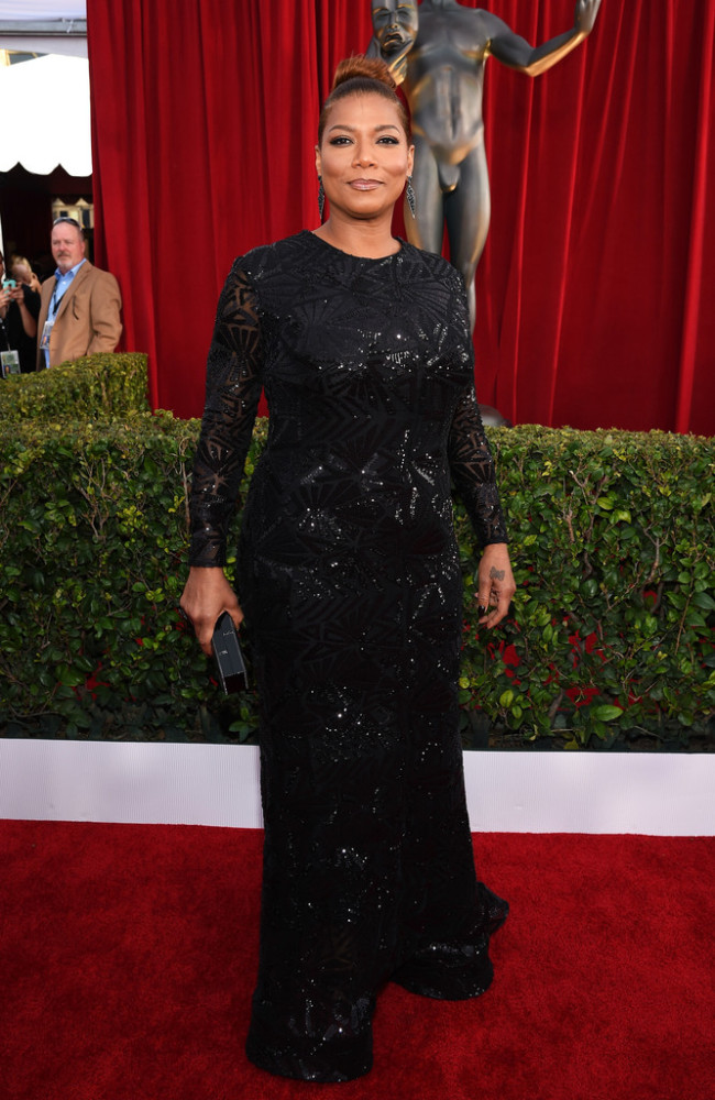 Queen-Latifah-22nd-Annual-Screen-Actors-Guild-michael-costello onerandomchick