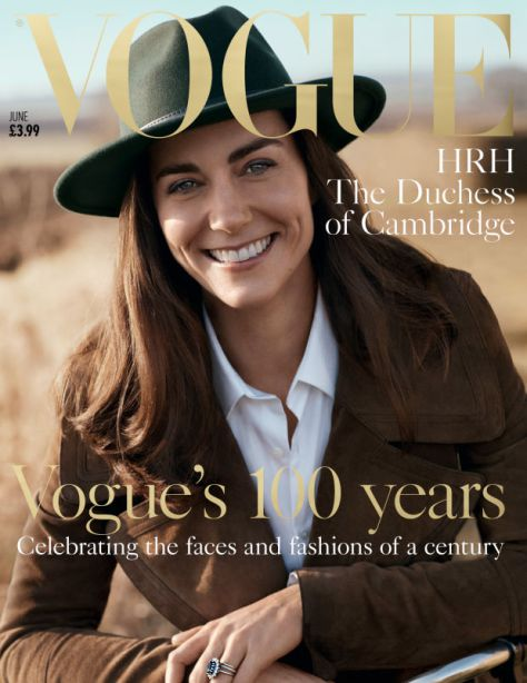 kate middleton first magazine editorial
