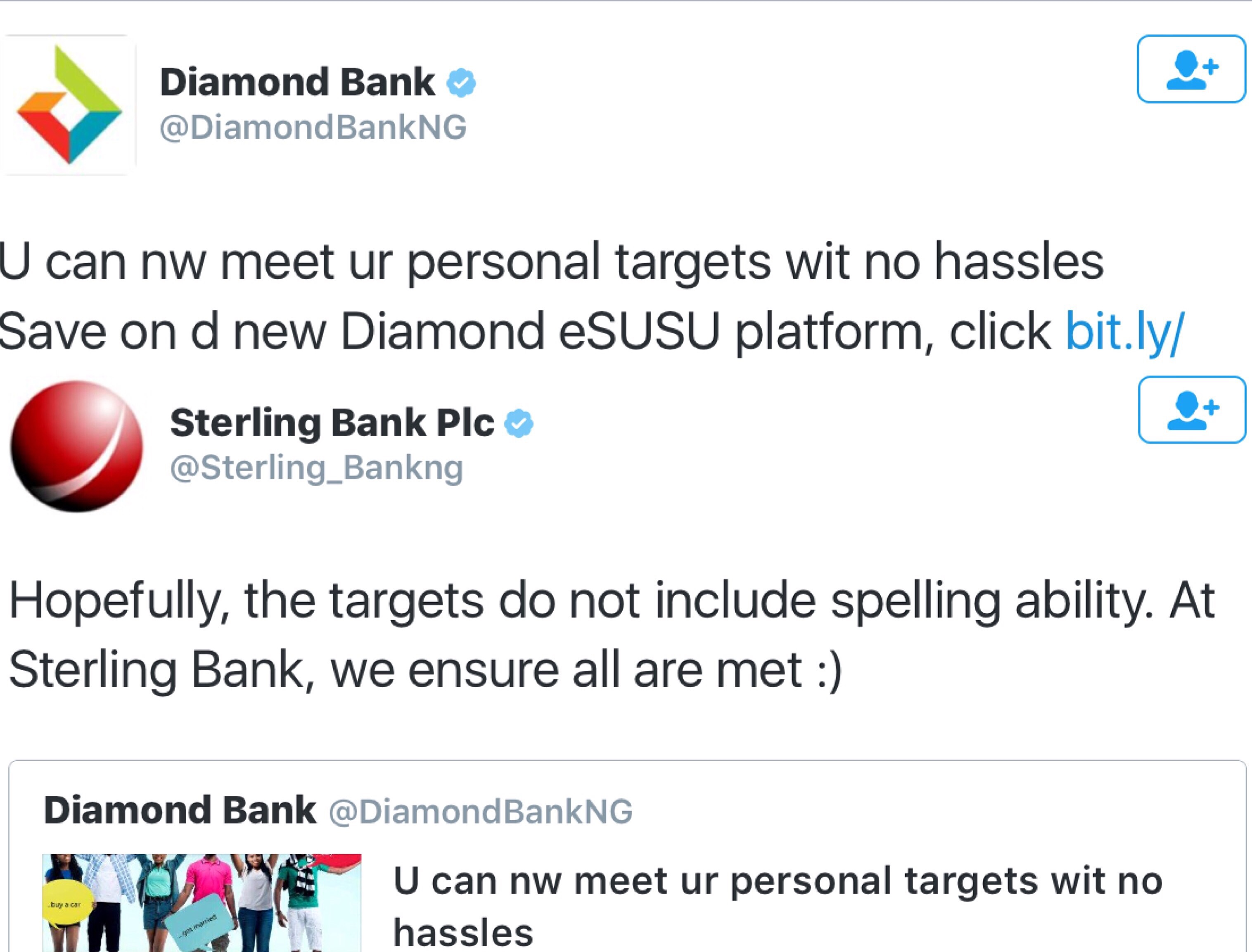 sterlings bank shades diamond bank over spelling errors