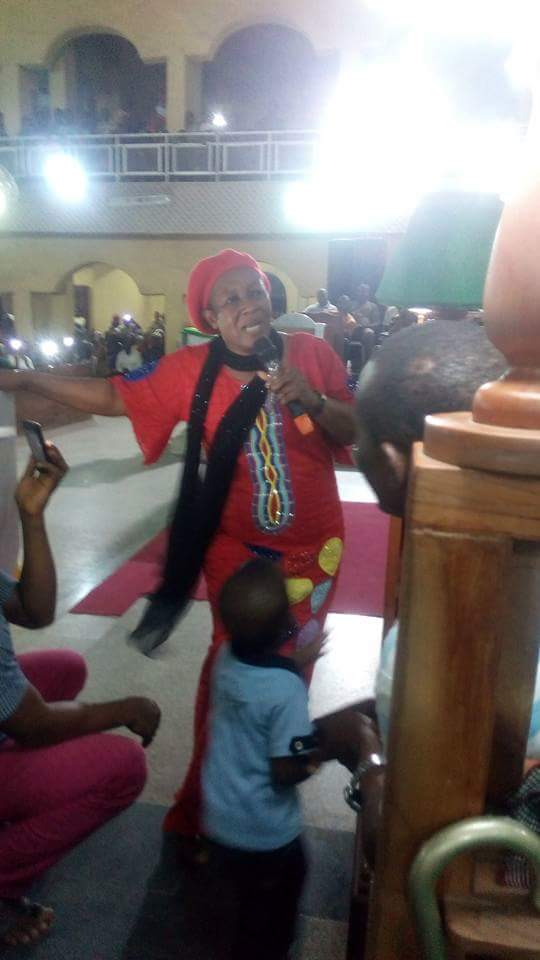 patience ozokwor ministering in church