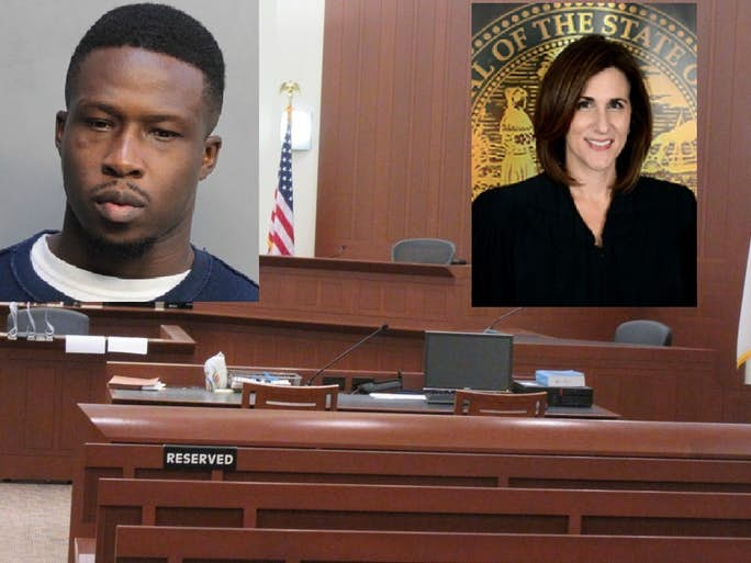 Florida man throws faeces at Judge Lisa but misses